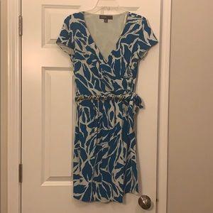 Donna Ricco Short-Sleeved Cocktail Dress